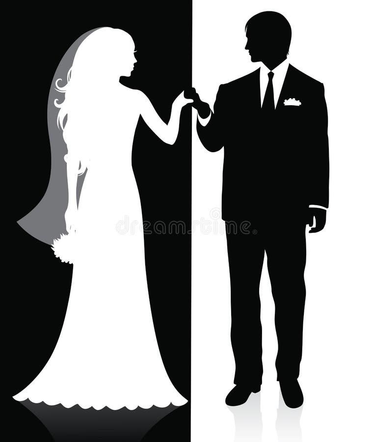 ärke- bröllop vektor illustrationer