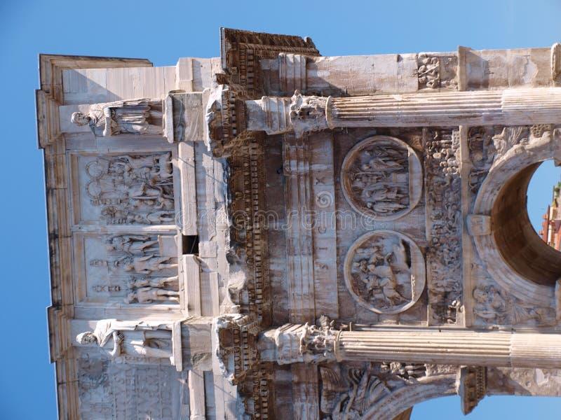 ärke- constantine stora italy rome fotografering för bildbyråer