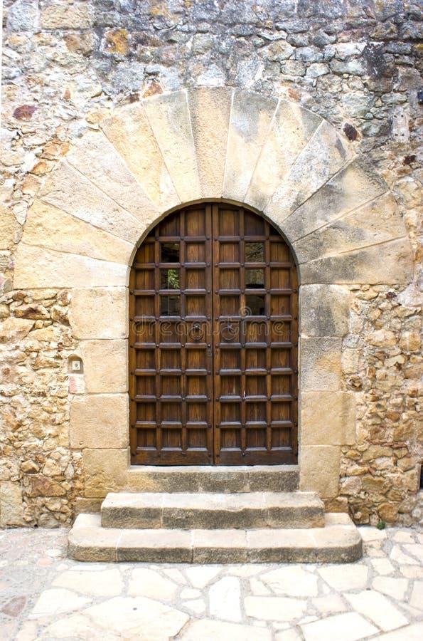 ärke- dörröppningspals arkivfoto