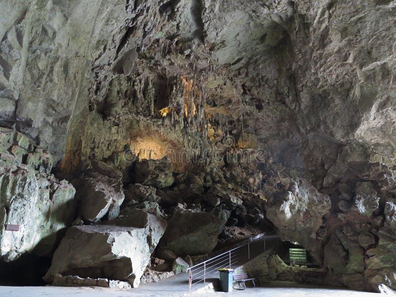 Ärke- grotta för tusen dollar på Jenolan grottor arkivfoto