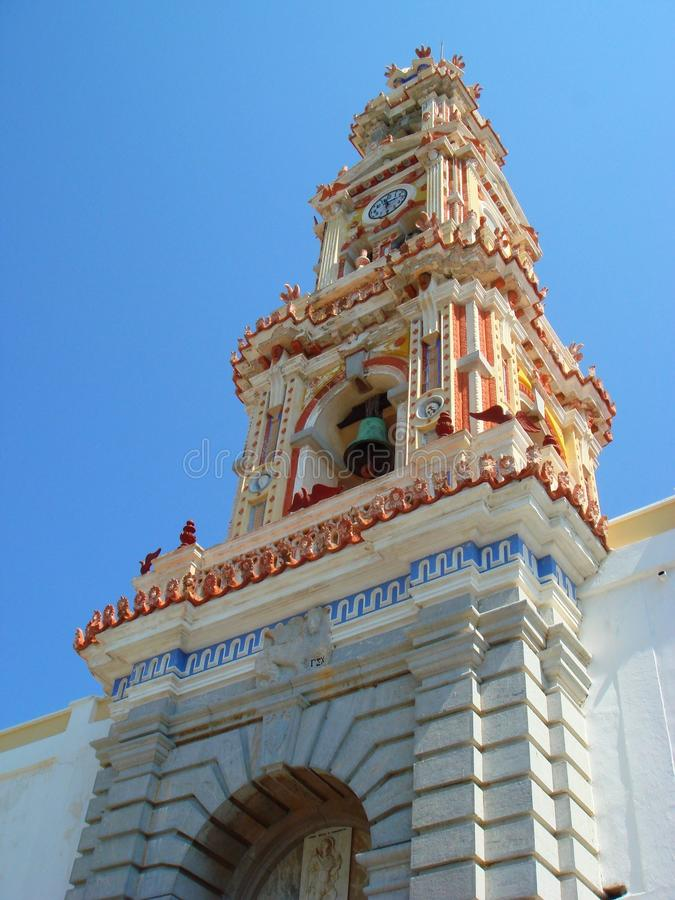 ärke- michael kloster royaltyfri bild