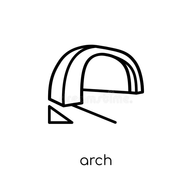 Ärke- symbol  royaltyfri illustrationer
