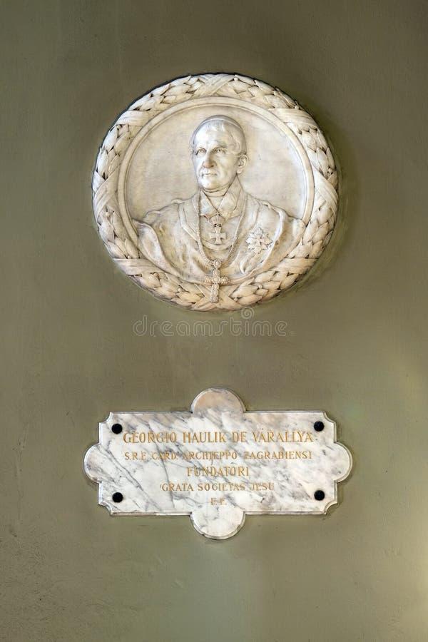 Ärkebiskop George Haulik arkivbild