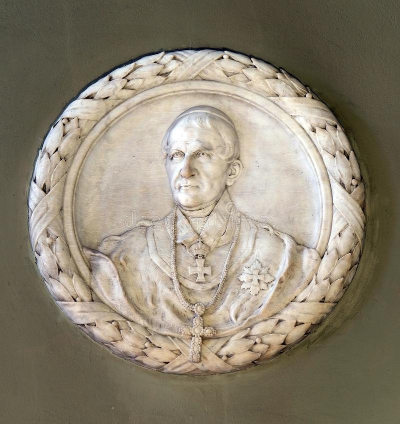 Ärkebiskop George Haulik arkivfoto