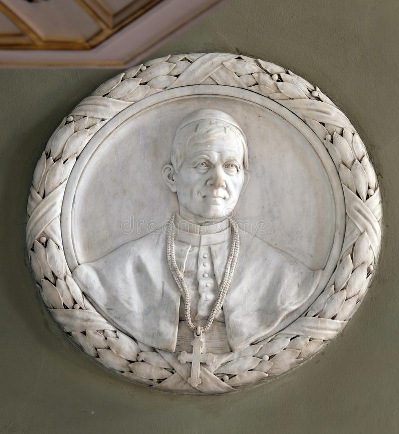 Ärkebiskop George Posilovic arkivbild