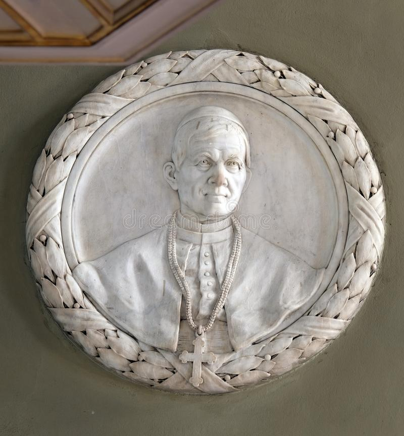 Ärkebiskop George Posilovic arkivbilder