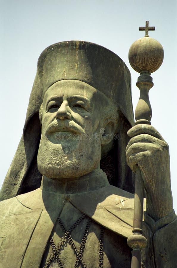 Ärkebiskop Makarios, Nicosia, Cypern royaltyfri fotografi