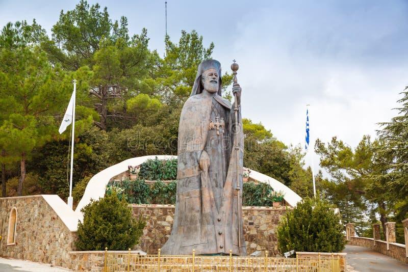 Ärkebiskop- och Cypern president Makarios III arkivbilder