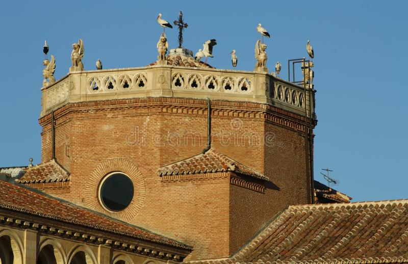 Ärkebiskop \ 's-slott royaltyfria bilder