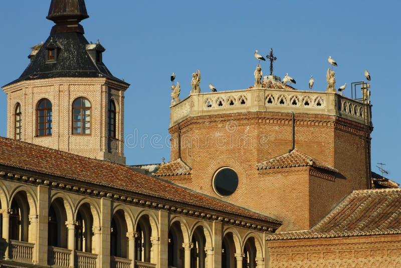 Ärkebiskop slott royaltyfria bilder