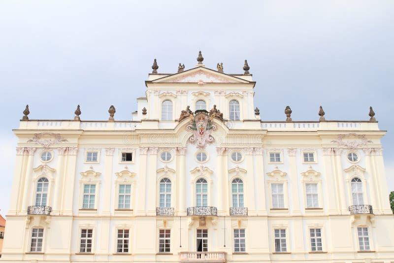 Ärkebiskop slott royaltyfri fotografi