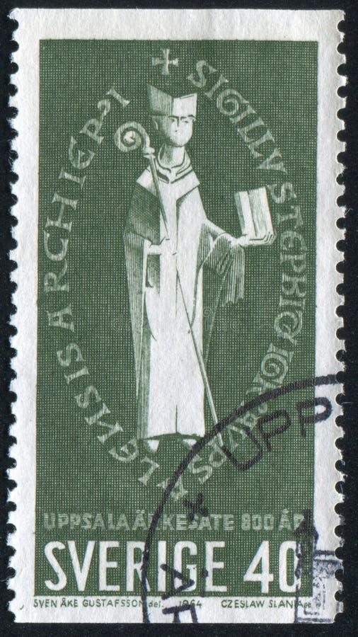 Ärkebiskop Stephen royaltyfri bild