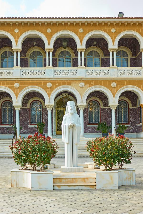 Ärkebiskops slott i Nicosia royaltyfri bild