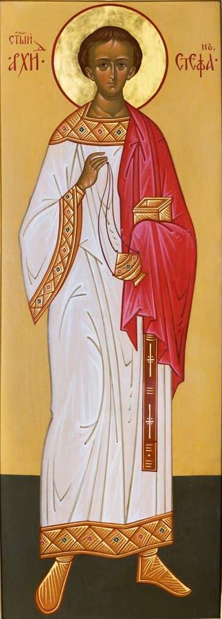 Ärkediakon Stefan royaltyfri bild