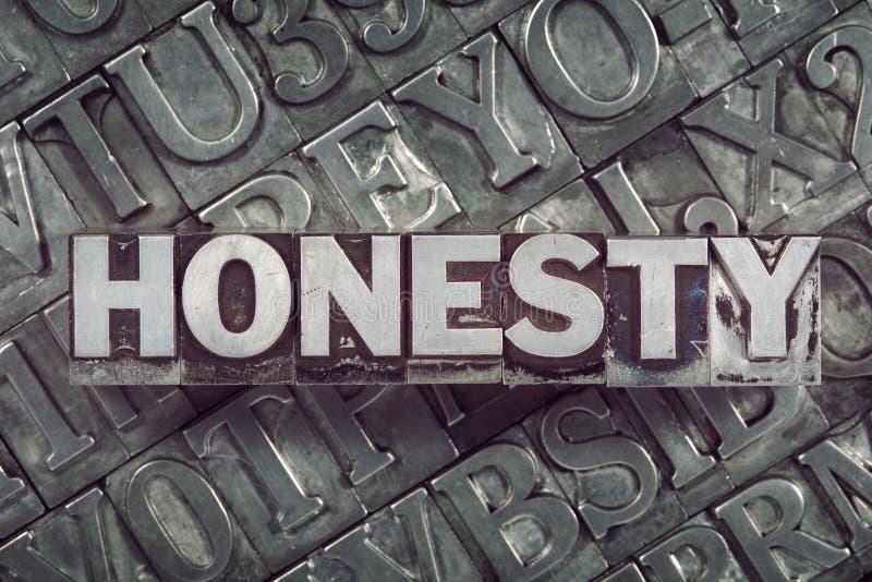 Ärlighet mött blandning vektor illustrationer