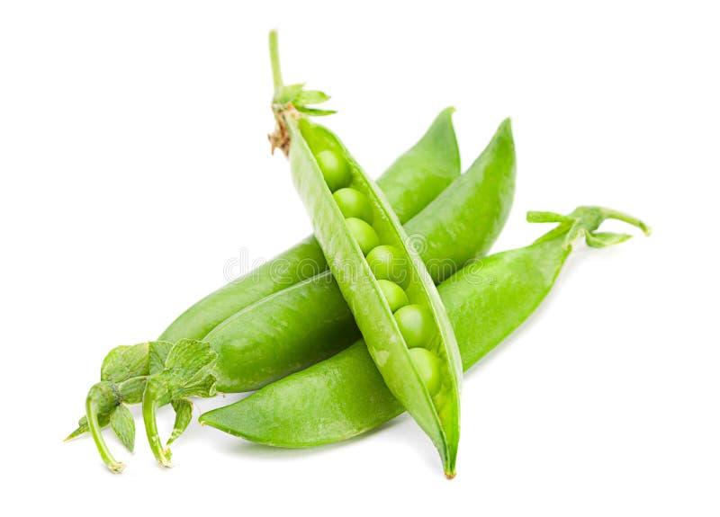 Ärtagrönsakcloseup arkivfoton