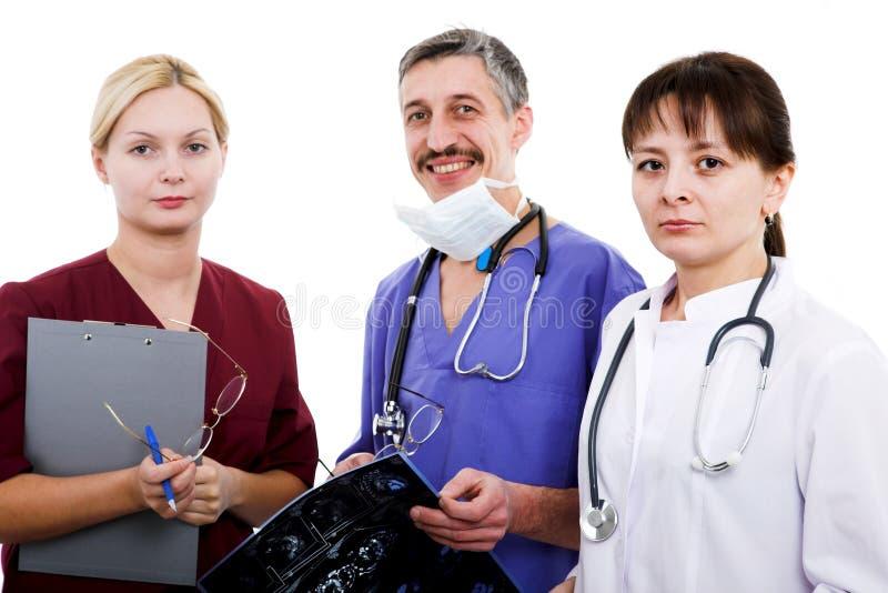 Ärzteteam stockfoto
