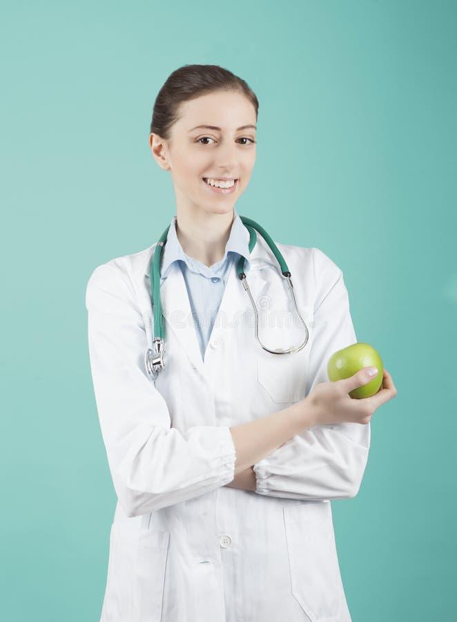 Ärztin stockbild