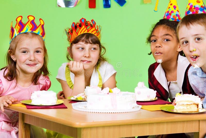 äta för cakestrid royaltyfria foton