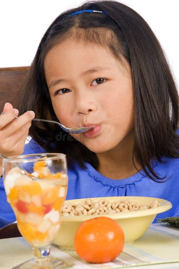 äta för frukost arkivbilder