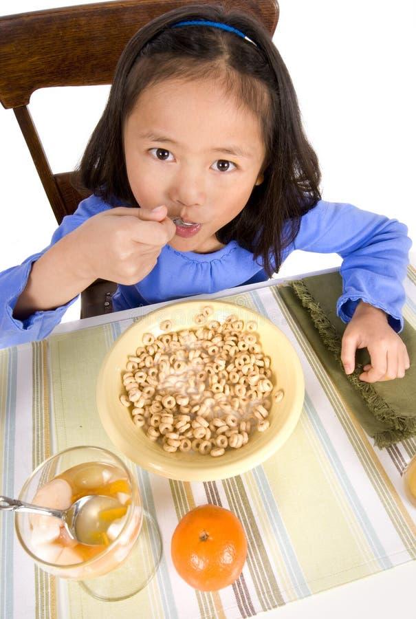 äta för frukost royaltyfria foton