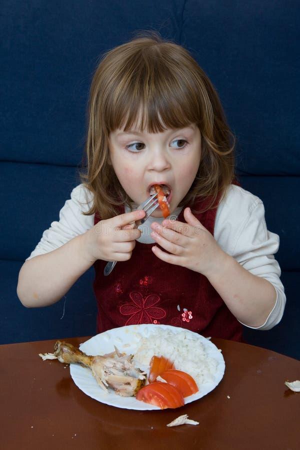 äta för matställe royaltyfria bilder