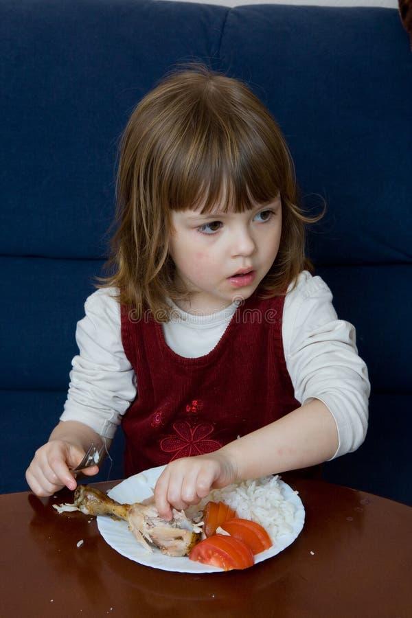 äta för matställe royaltyfri fotografi