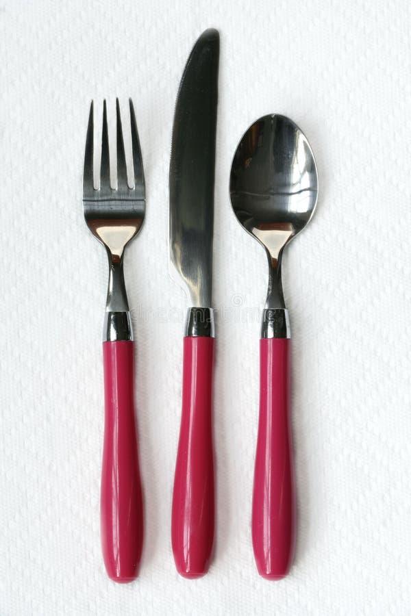 äta utensils arkivfoton