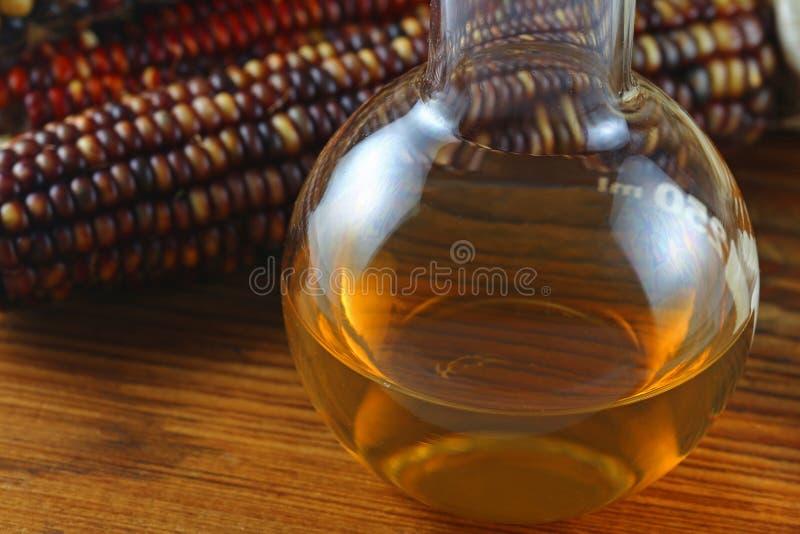 Äthanolbrennstoff lizenzfreie stockbilder