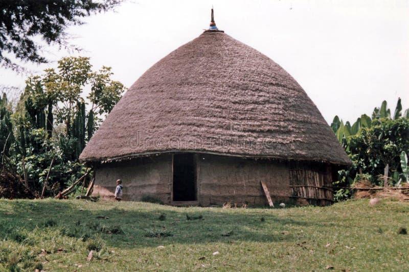 Äthiopisches tukul lizenzfreie stockfotos