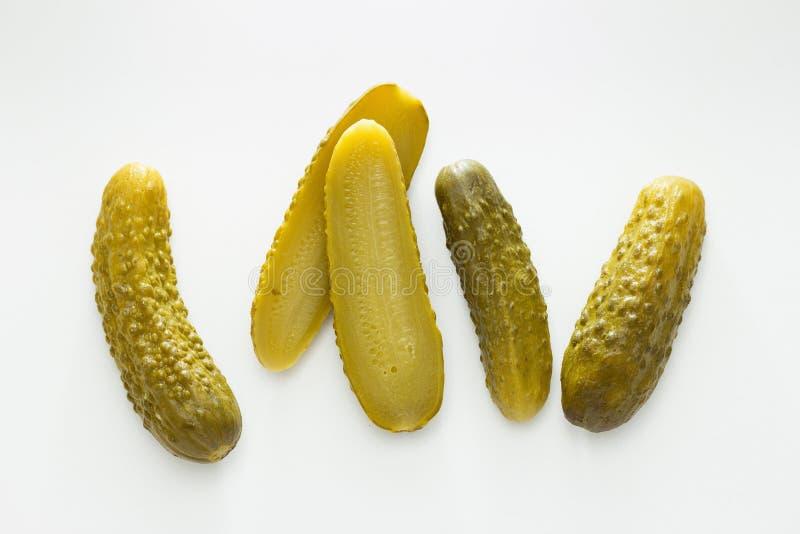 Ättiksgurkor fotografering för bildbyråer