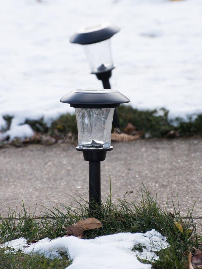 Äußere Lampe lizenzfreie stockfotografie