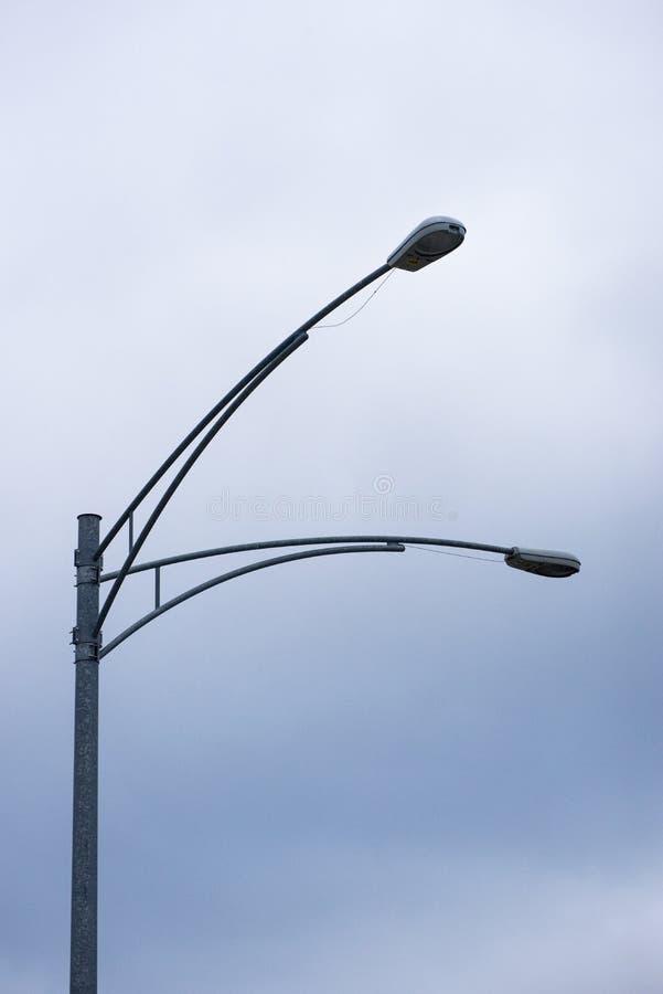 Äußere Lampe stockfoto