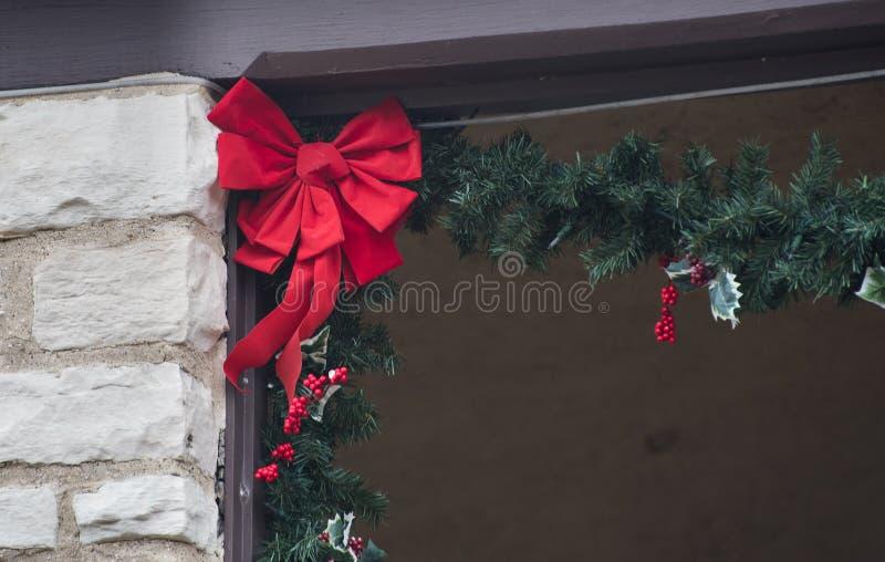 Äußere Weihnachtsdekoration lizenzfreie stockbilder