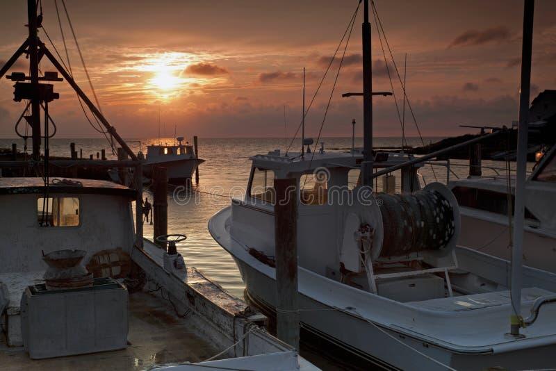 Äußerer Querneigung-Sonnenuntergang lizenzfreies stockfoto