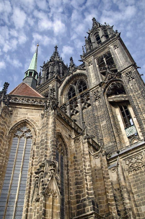 Download Äußeres Der Kathedrale O FMeissen Stockbild - Bild von kirche, gotisch: 27732603