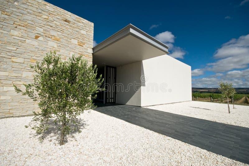 Äußeres der modernen Architektur stockfotos
