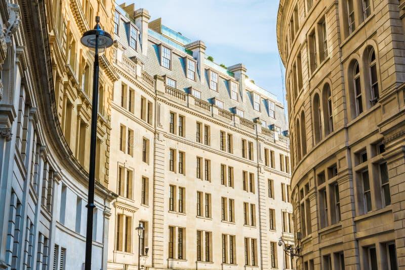 Äußeres des Gebäudes in großem Scotland Yard, London lizenzfreie stockbilder