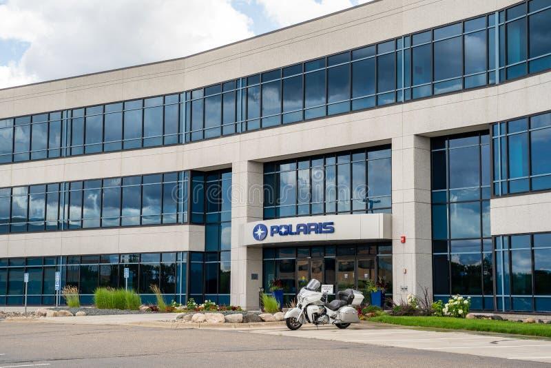 Äußeres von Hauptsitzen Planungs- und Führungsstab der Polarstern-Industrien Diese Firma produziert ATVs, stockfotos