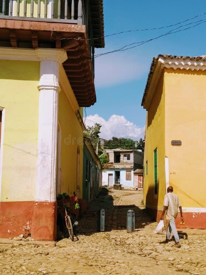 古巴生活 免版税库存图片
