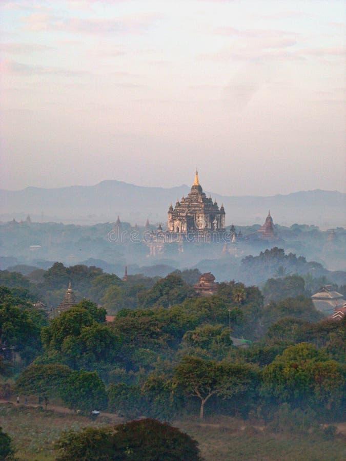 古庙在缅甸越南 免版税库存照片