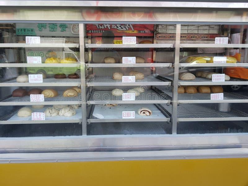 可口中国小圆面包 图库摄影