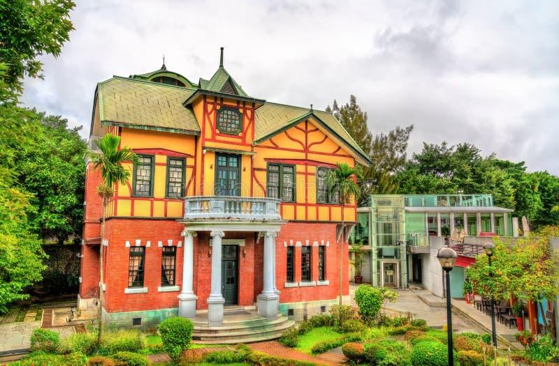 台北故事议院,一个历史建筑在台北,台湾中山区  库存图片