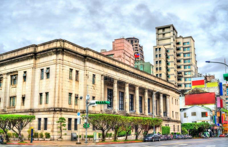 台湾银行历史的总公司办公楼在台北 免版税库存图片