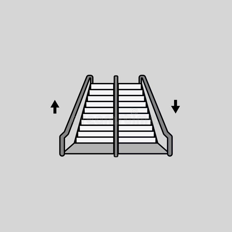 台阶象,方式 运输 也corel凹道例证向量 10 eps 向量例证