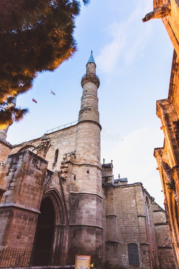 塞利米耶清真寺,Camii的关闭,在1575年设计由科查・米马尔・希南 爱迪尔内,土耳其 免版税库存图片