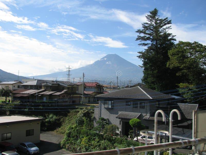 壮观的Mt风景  富士 库存图片