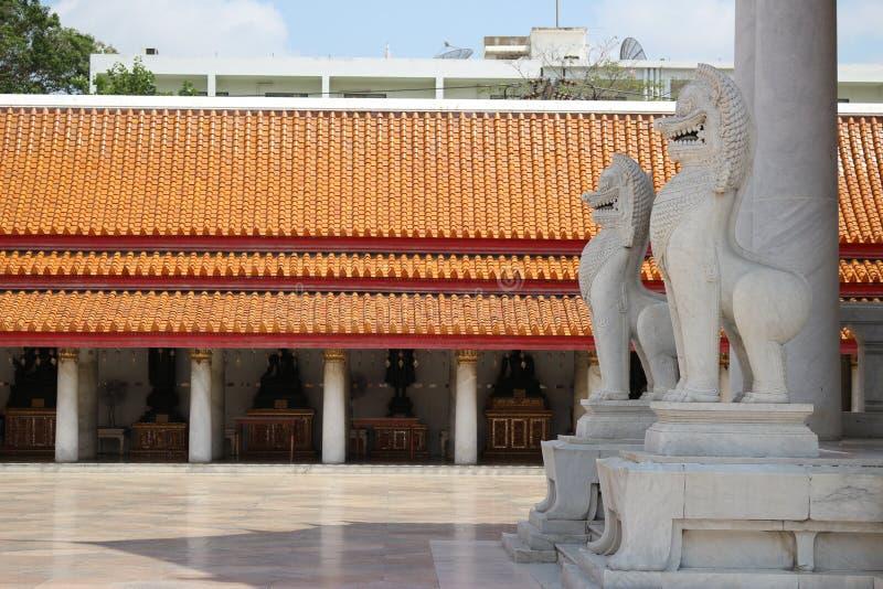 寺庙在曼谷,天空,泰国,曼谷,文化 库存图片