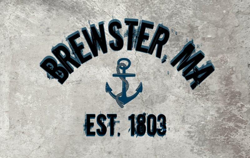 布鲁斯特,马萨诸塞 库存照片