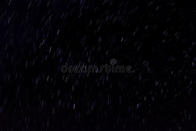 干净的转动的星足迹 免版税库存照片